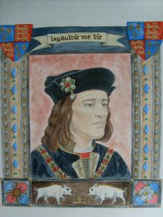 OP-one of my paintings of Richard lll (sadly I cannot claim this - KL)