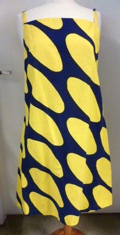 Marimekko Finland Annika Rimala Vintage 60's Sleeveless Dress Medium Size | eBay