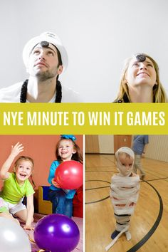 Wild New Years Eve Games for Family Fun - Peachy Party New Year's Eve Games For Family, New Years Eve Games, New Year's Games, Games For Boys, Family Game Night, Family Games, News Games, Fun Games, Games To Play
