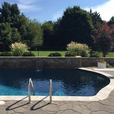 The #swimmingpool at my client's home for sale. Makes you want to jump in, right? | Robyn Porter, REALTOR | Your Real Estate Agent for Life® | Washington DC metro area | call/text 703-963-0142; email robyn@robynporter.com | #greatbackyards #luxuryliving #patios #outdoorlife
