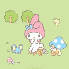 My Melody is so grateful for all her friends and family!  What are you grateful for?