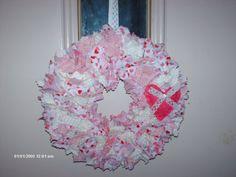 LOVE Valentine Wreath by KraftyLove28 on Etsy, $17.00
