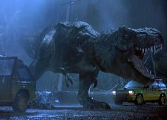 #62 Jurrasic Park  Despite the whole breaking free and killing people aspects, I kinda wish this was a real thing.