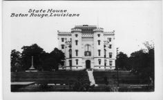 Early LSU postcards State House, Old Louisiana Capitol