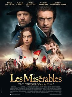 Les Miserables (French Theatrical Poster)-- I saw it today and was crying throughout the entire movie.  Its amazing!