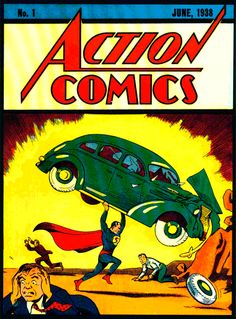 First ever Superman comic.