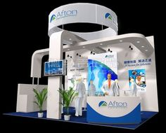 Afton Shanghai, China,English Booth Design,Afton Chemical Corporation Exhibition Hall Planning【Demage English Exhibition Company】