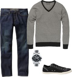 """""""Men's Outfit"""" by shellabelladesigns on Polyvore"""