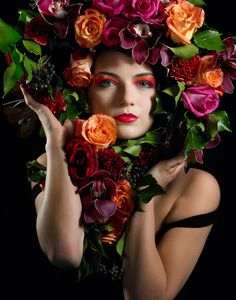 A Headpiece #Floral #Fashion