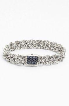 John Hardy 'Classic Chain' Small Braided Bracelet