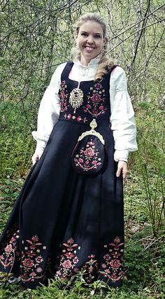 Hello all, this is part three of my overview of Norway, even if I published them out of order. This will cover the west of Norway. Folk Costume, Costumes, Hardanger Embroidery, Bridal Crown, Norway, Outfits, Clothes, Dresses, Search