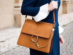 BAG LOVER #Chloé #brown #bag #botd #look #SteffenSchraut #SS17