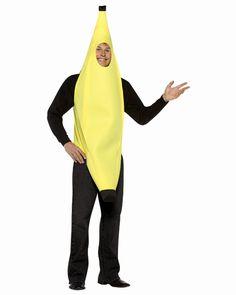 Lightweight Banana Costume. Alternative to Mrs. Needleman Costume Idea for Mama.