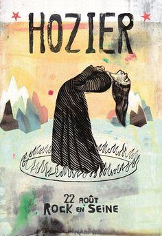 Hozier by Ghislaine Herbera