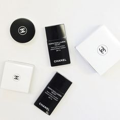 Chanel beauty products #classyblog #chanel #beauty #beautyproducts #skin #body #skincare #white #black #cosmetics
