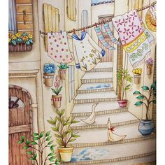 from Romantic Country coloring book