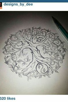Pretty tattoo idea