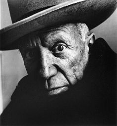 Pablo Picasso, 1957 © I R V I N G • P E N N