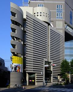 Watari Museum of Contemporary Art, at Shibuya-ku Tokyo Japan, design by Mario Botta in 1990.
