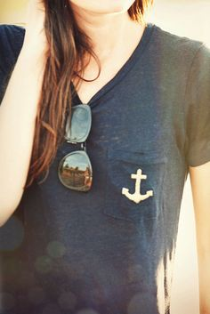 Classy Girls Wear Pearls: Anchored Down - Love this!