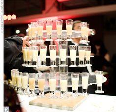 I will definitely be having a shot bar at my wedding :)