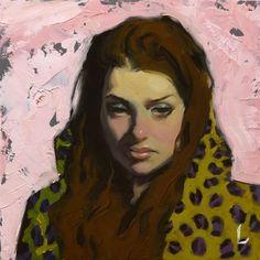 "Daily Paintworks - ""Blush"" - Original Fine Art for Sale - © John Larriva"