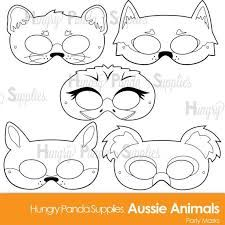Australian Animals Printable Coloring Pages Printable Coloring Pages, Colouring Pages, Coloring Books, Jungle Animals, Felt Animals, Woodland Animals, Printable Masks, Printables, Printable Templates