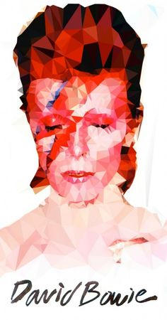 Retratos pixelados de Mauro De Donatis