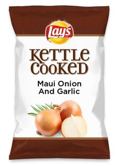 Wouldn't Maui Onion And Garlic be yummy as a chip? Lay's Do Us A Flavor is back, and the search is on for the yummiest flavor idea. Create a flavor, choose a chip and you could win $1 million! https://www.dousaflavor.com See Rules.
