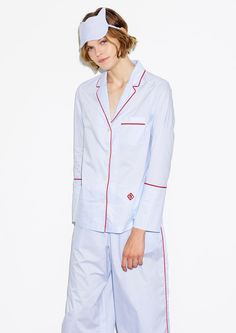 Chambray Pajama Top - Thakoon