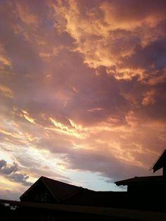 Sunset over Destin FL