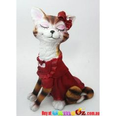Cat in Red Dress Ring Jewellery Holder Display Stand  http://www.gameoz.com.au/jewellery/displays/cat-in-red-dress-ring-jewellery-holder-display-stand.html