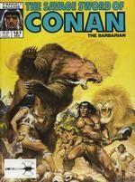 SAVAGE SWORD OF CONAN #167 - Marvel