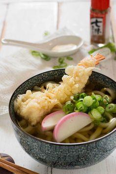 Tempura Udon 天婦羅うどん | Chopstick Chronicles