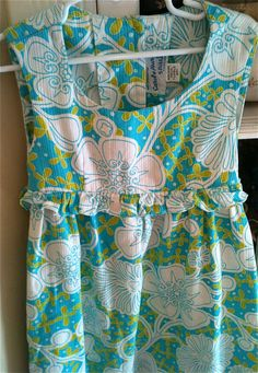 Tiki Oasis Maxi Dress Girls 5/6 by lishyloo on Etsy, $14.00