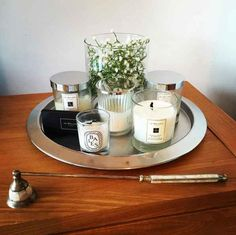 """>> Ways to Make Your Home Feel """"Cozy"""" for CHEAP!! << -- Gather all of your candles in one place."""
