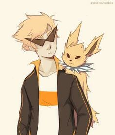 Pokemon x homestuck knew I liked Dirk for some reason...