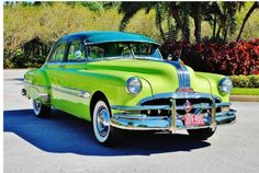 ◆1952 Pontiac Chieftain◆ Maintenance/restoration of old/vintage vehicles: the material for new cogs/casters/gears/pads could be cast polyamide which I (Cast polyamide) can produce. My contact: tatjana.alic@windowslive.com