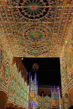 Festival of the Madonna della Bruna in Matera, Italy
