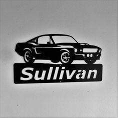 Personnalisé  Ford Mustang-Man Cave  Eleanor  par Just4theArtofit