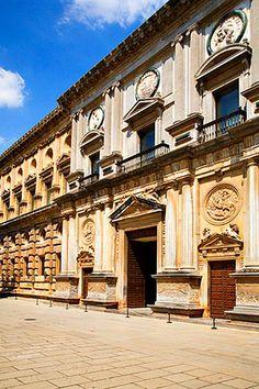 Palacio de Carlos V, Granada.