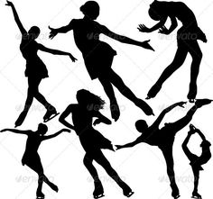 Find Figure Ice Skating Vector Silhouettes Layered stock images in HD and millions of other royalty-free stock photos, illustrations and vectors in the Shutterstock collection. Ice Skating Party, Skate Party, Ice Zug, Ice Skate Drawing, Figure Ice Skates, Maila, Ice Skaters, Figure Skating Dresses, Illustration