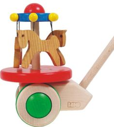 Bajo Carousel Push Toy - Bajo - Buckets and Spades for kids