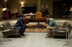 "Mads Mikkelsen (Hannibal) and Hugh Dancy (Will) in Hannibal, ""Amuse-Bouche"" (2013)"