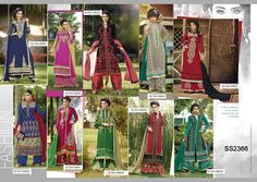 Catalog Name : SS2366    Designs : 10 MOQ : Full Catalog