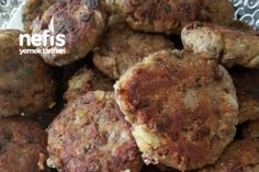 Green Lentil Patties (Must Try Like a Ground Beef) (with video) - Fleisch Lentil Patty, Armenian Recipes, Armenian Food, Peanut Butter Granola, Green Lentils, Macaroni Salad, Soup And Salad, Ground Beef, Great Recipes