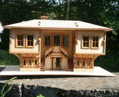 Wooden Dollhouse Bulgarian Style