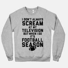Football Season #football #season #fan