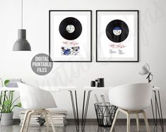 The Wall - Set of 4 Printable Digital Posters The Wall Album, Album Releases, Gallery Wall, Printables, Posters, Colours, Digital, Frame, Music