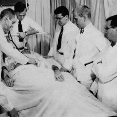 The Past Through Photography | The University of Cincinnati | UC clinical students | 1955